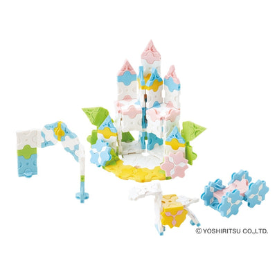 Sweet Collection Princess Garden -  Flower Castle Model