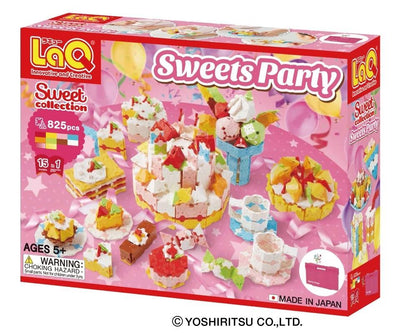 Front cover of LaQ product: Sweet Collection Sweets Party