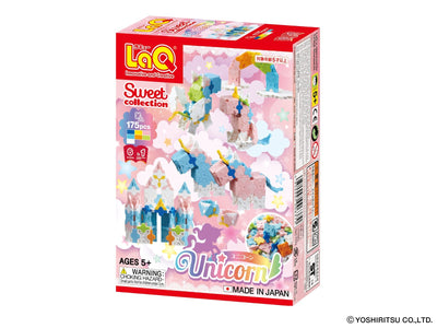Sweet Collection UNICORN - 6 Models, 175 Pieces - Front cover of product