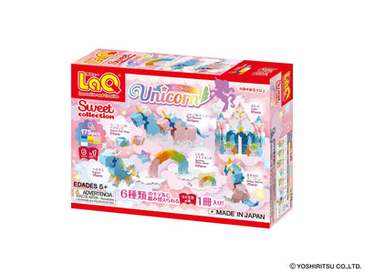 Sweet Collection UNICORN - 6 Models, 175 Pieces - Back cover of product