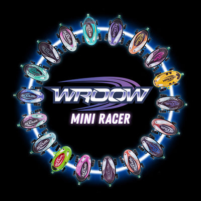 Wroow Mini Racer - Pocket micro car with big personality!