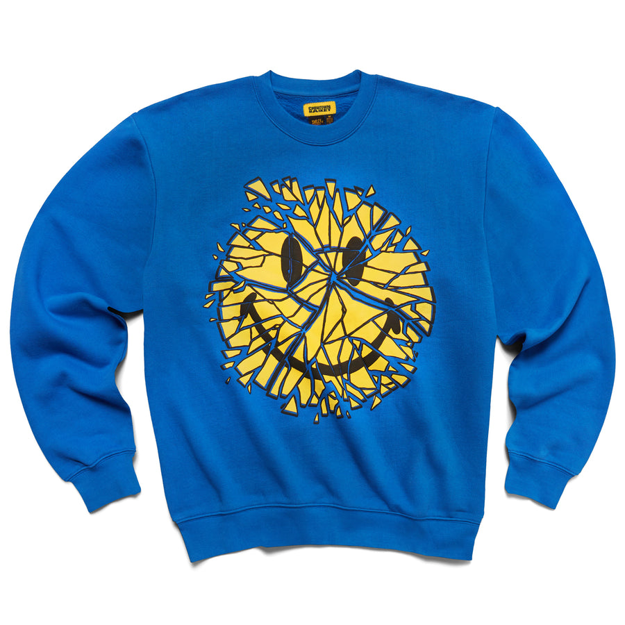SMILEY GLASS CREWNECK