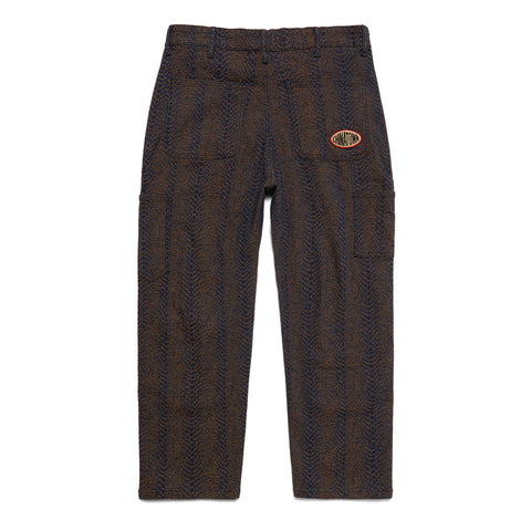 SNAKESKIN CARPENTER PANTS