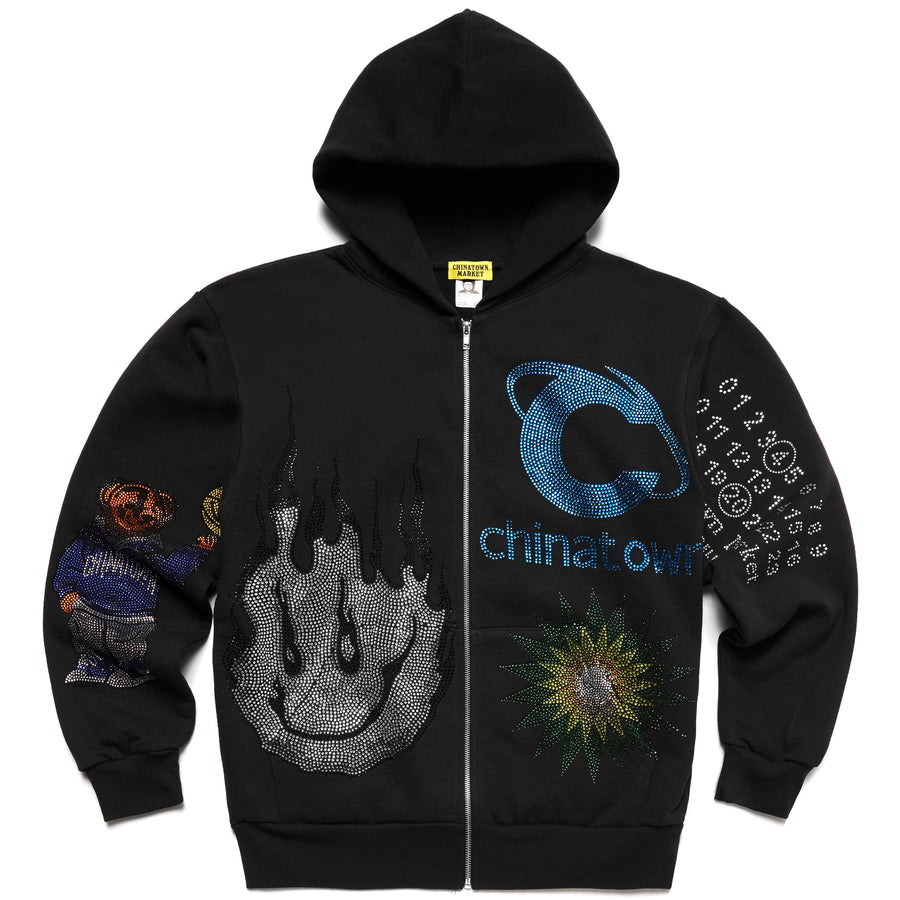 CHAOS RHINESTONE ZIP UP AUCTION