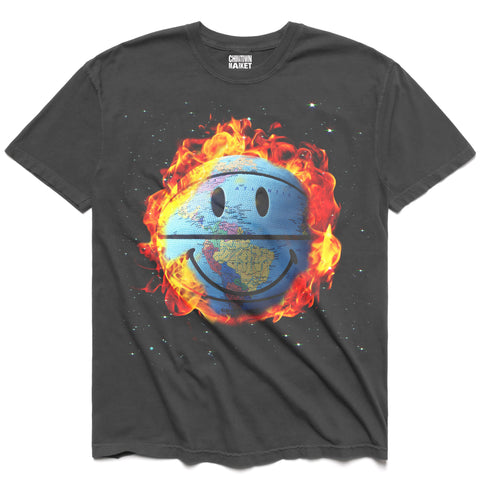 SMILEY GLOBE T-SHIRT