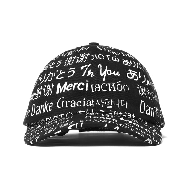 MULTI LANGUAGE HAT (BLACK)