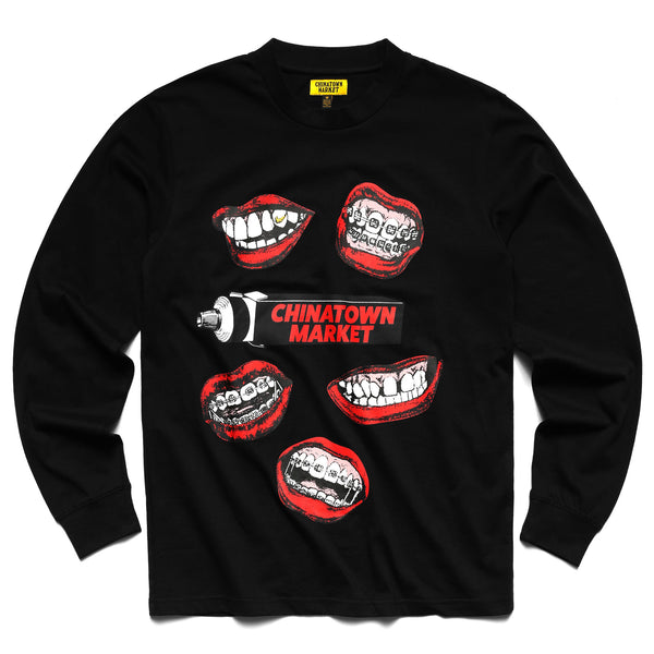 MOUTH L/S (BLACK)