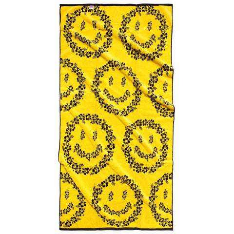 SMILEY FLORAL TOWEL