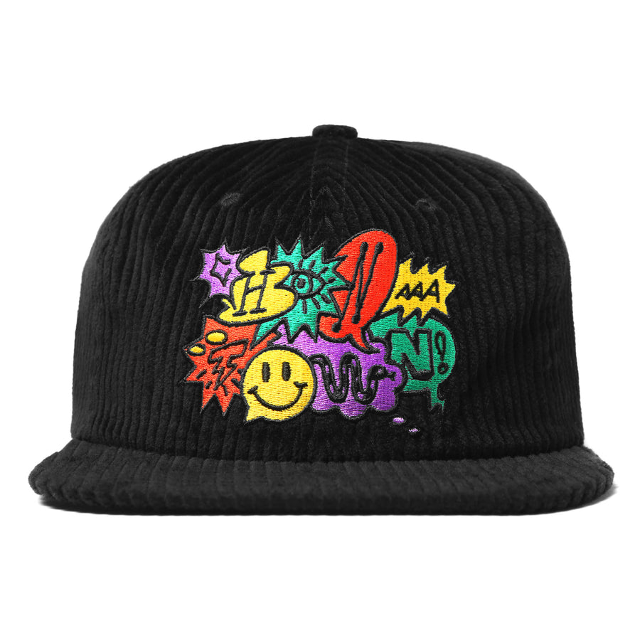 SPEECH BUBBLE CORDUROY HAT