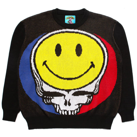 SMILEY STEALIE SWEATER