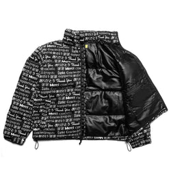 MULTI LANGUAGE PUFFER JACKET
