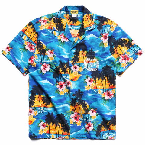 OUTLINE HAWAIIAN SHIRT