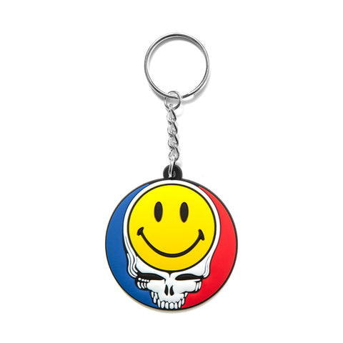 SMILEY STEALIE KEYCHAIN