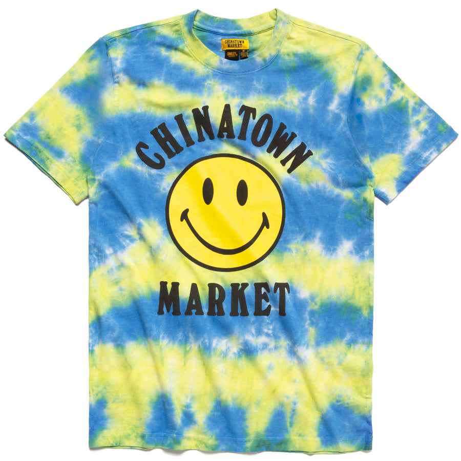 TIE DYE SMILEY T-SHIRT