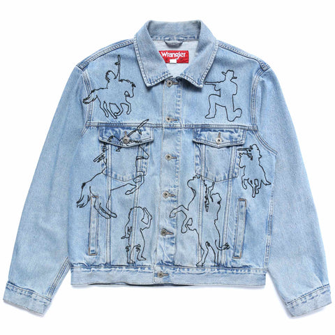 BATTLE OF LITTLE BIGHORN (DENIM JACKET)
