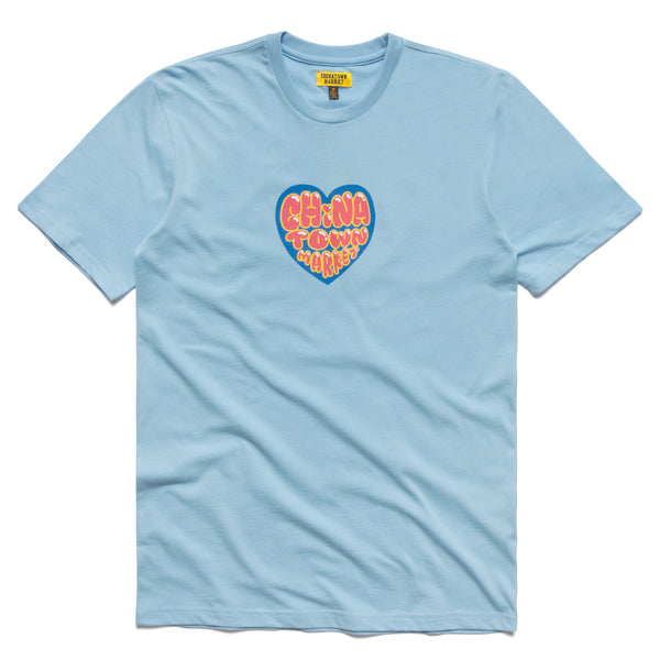 HEART T-SHIRT (BLUE)