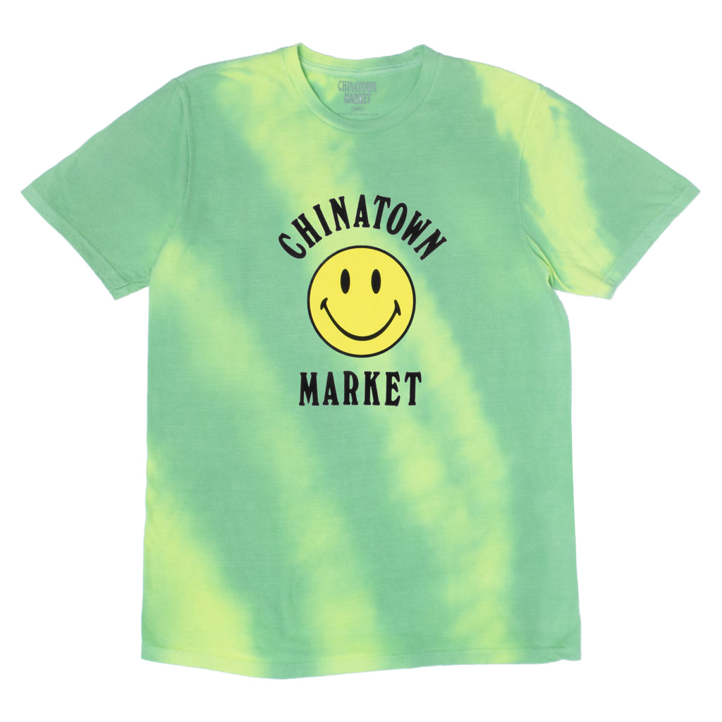 SMILEY LOGO COLOR CHANGE T-SHIRT (GREEN)
