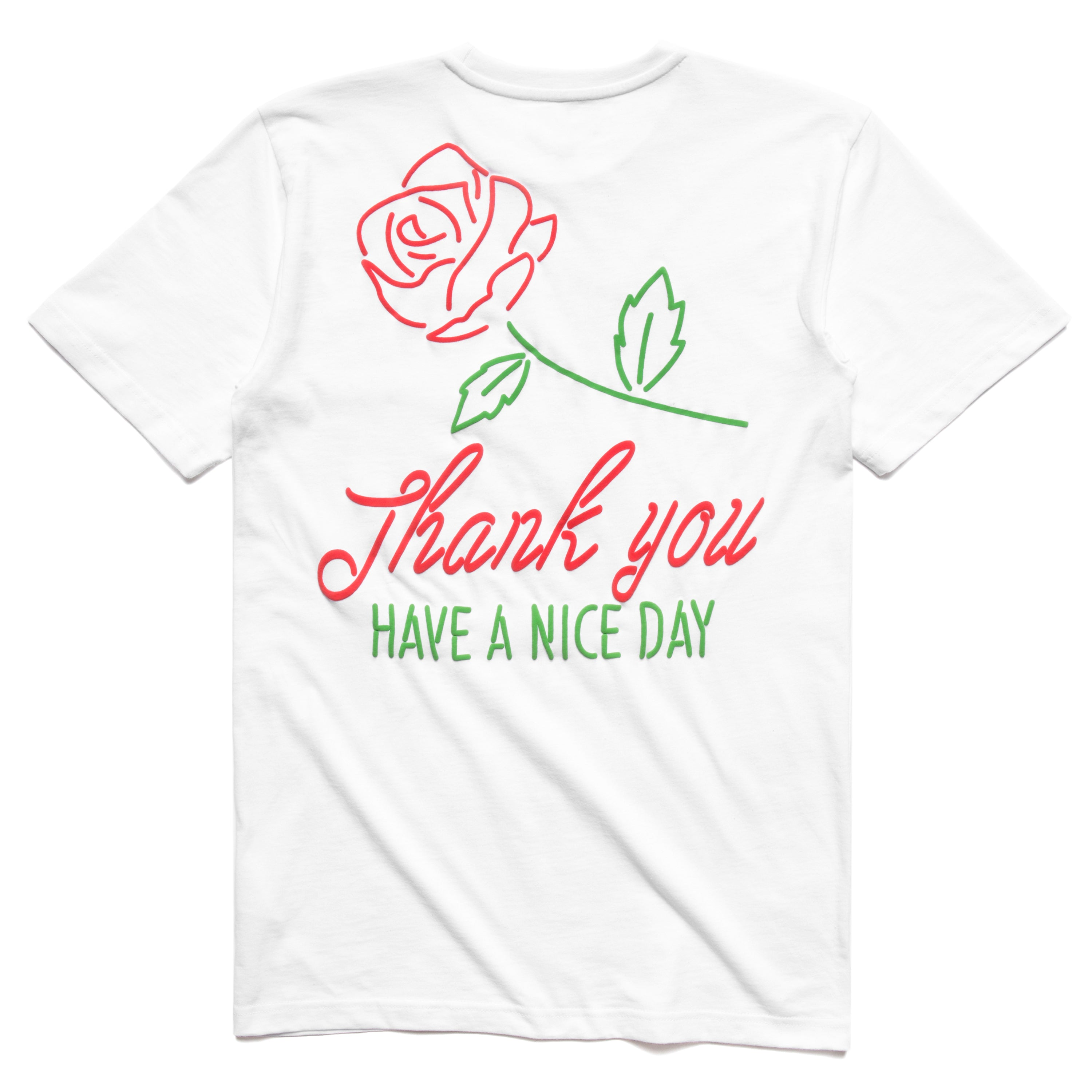 ROSE T-SHIRT (WHITE)