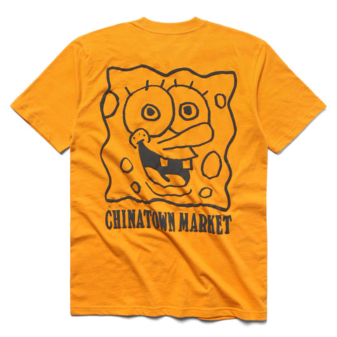 SPONGEBOB x CTM FACE TEE (ORANGE)