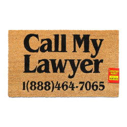CALL MY LAWYER DOORMAT