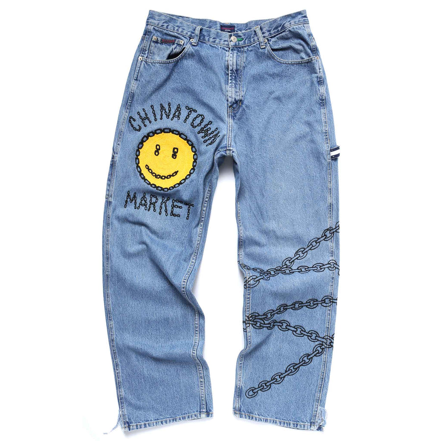 MY PANTS WITH THE CHAIN (DENIM)