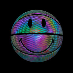 IRIDESCENT SMILEY BASKETBALL