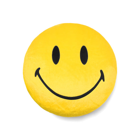 SMILEY PLUSH PILLOW