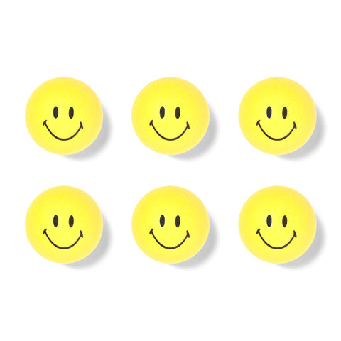 SMILEY PING PONG BALLS