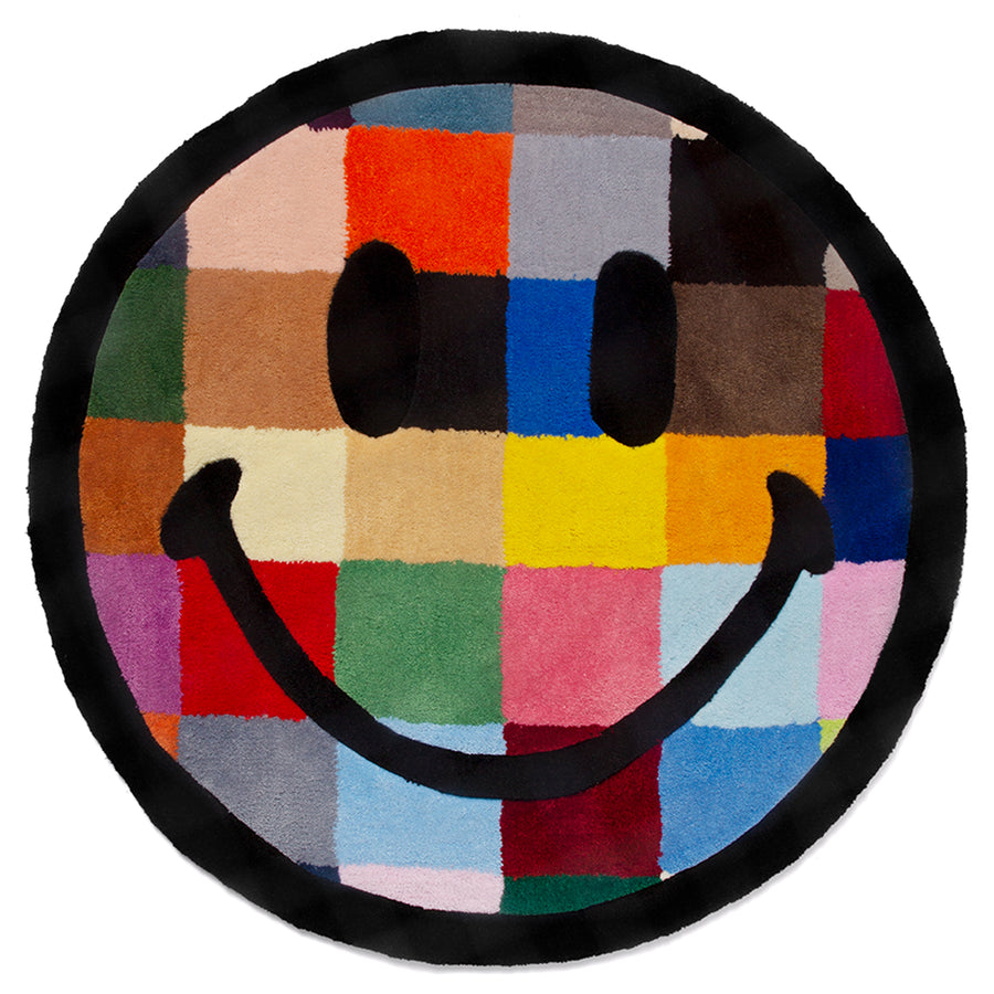 COLOR TILE SMILEY RUG