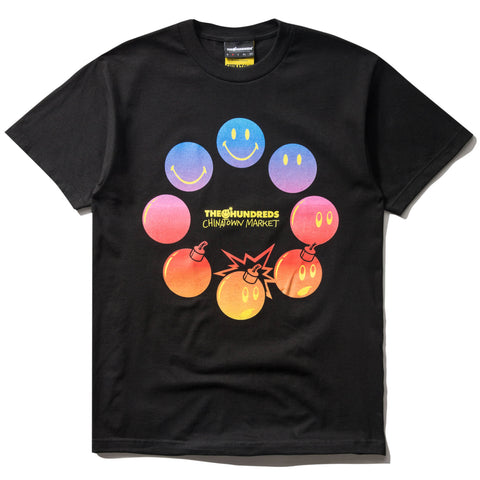 THE HUNDREDS x CTM CYCLE T-SHIRT (BLACK)