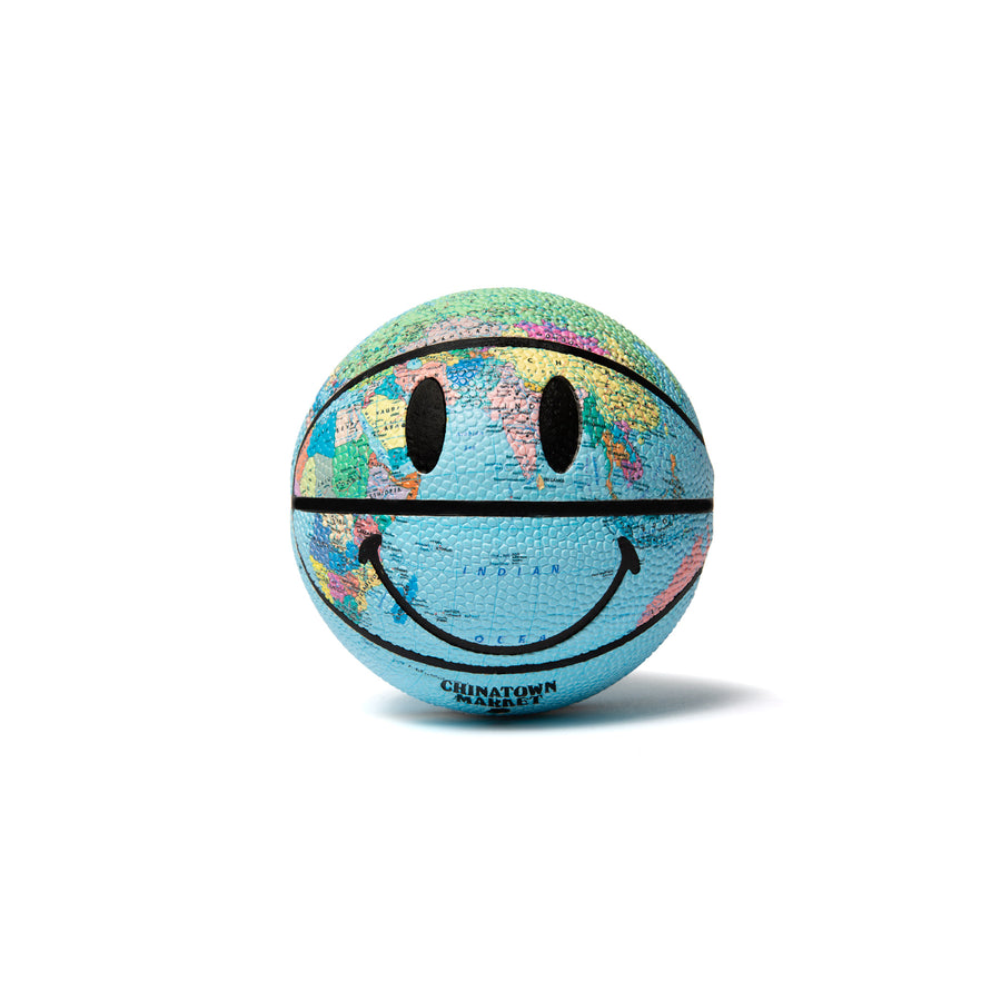 MINI SMILEY GLOBE BASKETBALL