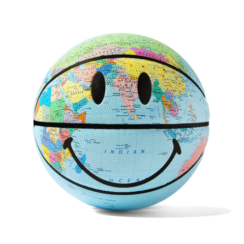 GLOBE SMILEY BASKETBALL