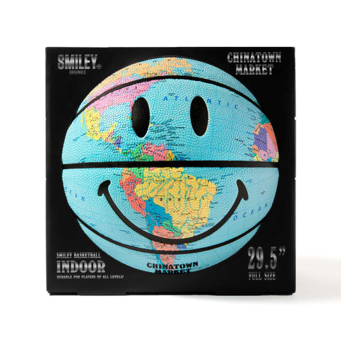 SMILEY GLOBE BASKETBALL