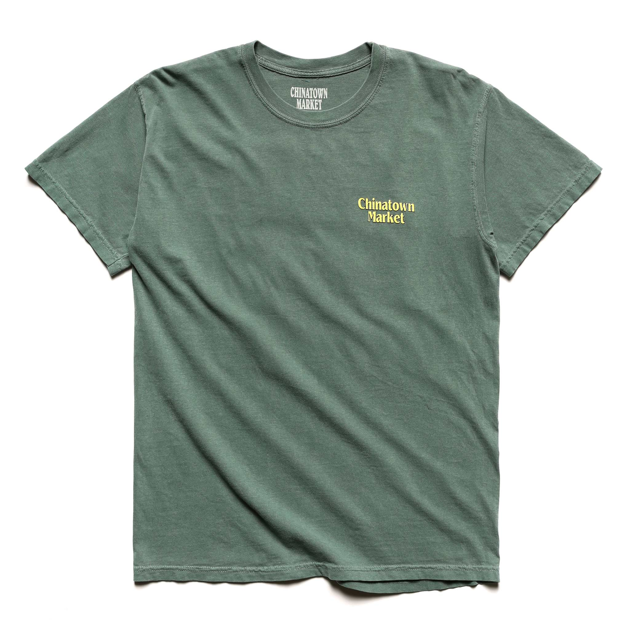 TWO-TONE LAWYER T-SHIRT (EMERALD)