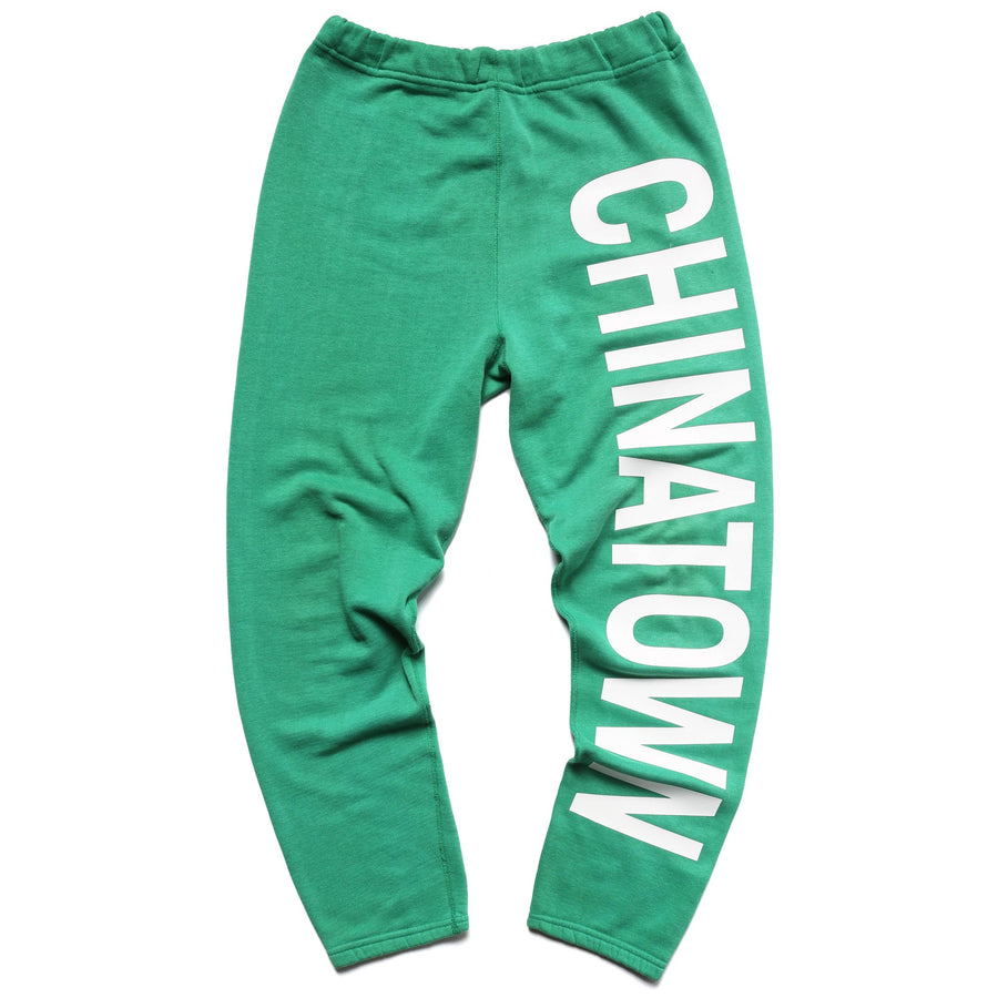 IT LOOKS BETTER WHEN IT SAYS 'CHINATOWN' THAN VETEMENTS (SWEATPANTS)