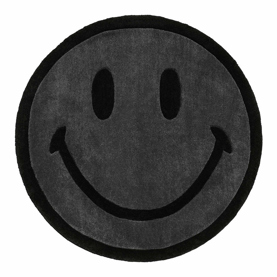 MONOCHROME SMILEY RUG