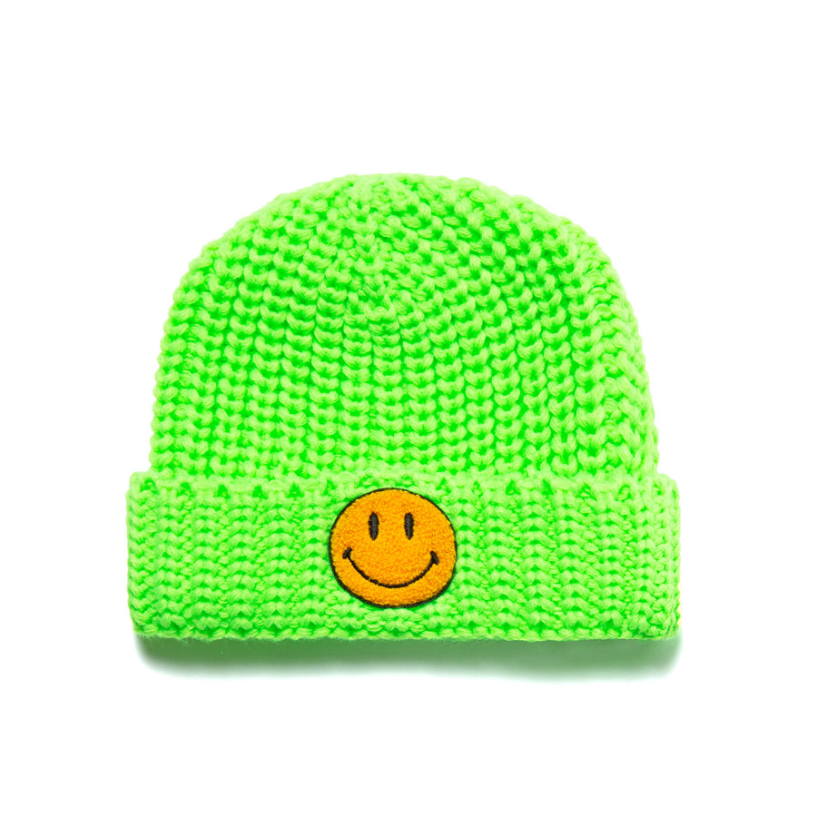 SMILEY KNIT BEANIE