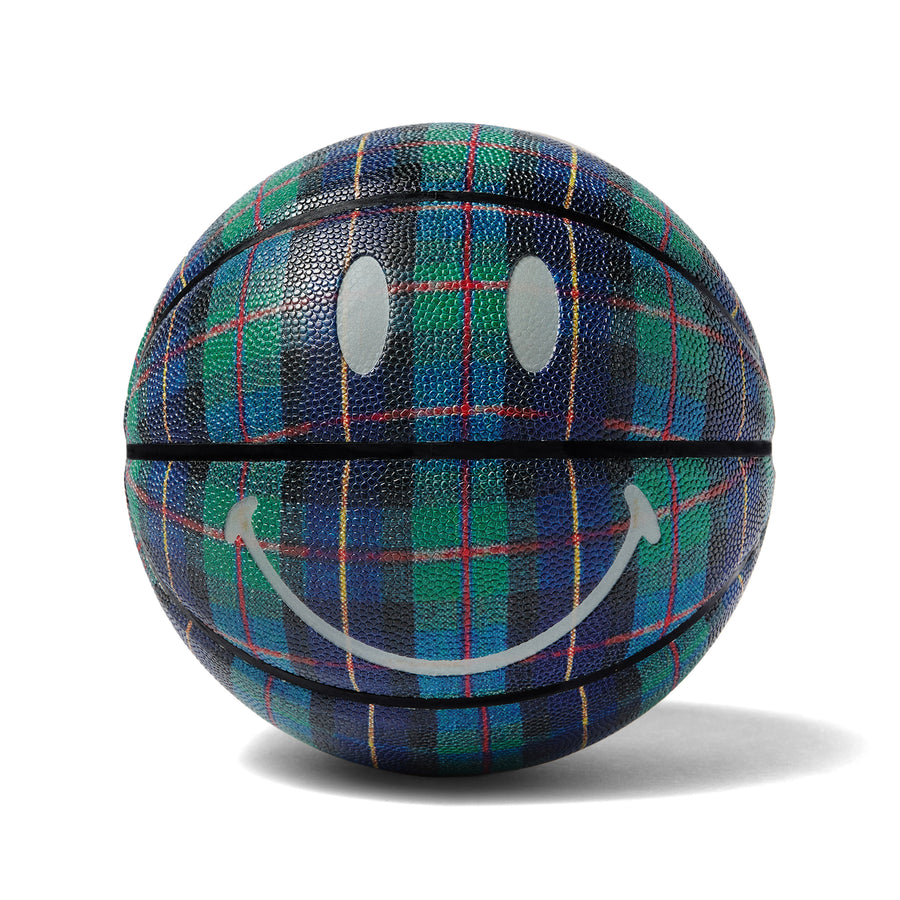 PLAID SMILEY BASKETBALL
