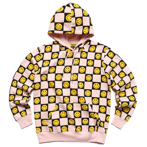 SMILEY CHECKER HOODIE