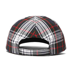 WOVEN LABEL HAT (PLAID)