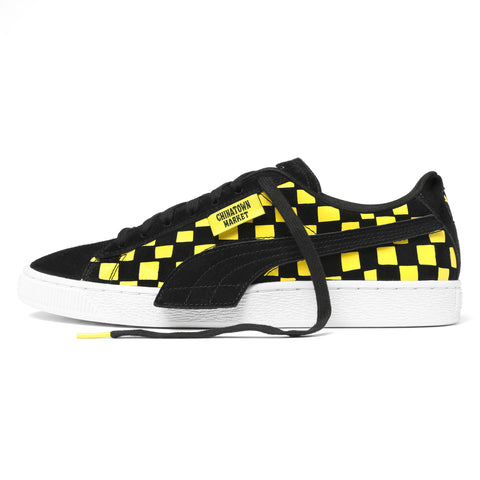 CHECKER SUEDE LOW