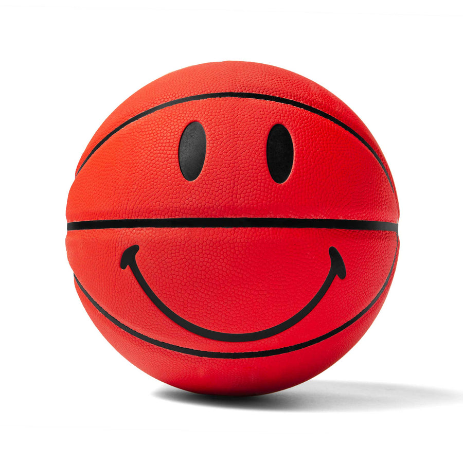 RED 3M SMILEY BASKETBALL