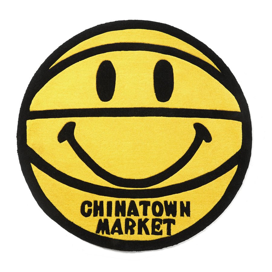 SMILEY BASKETBALL RUG