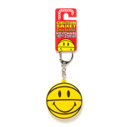 SMILEY BASKETBALL BOTTLE OPENER