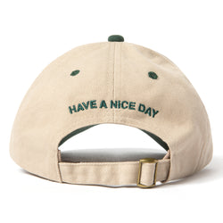 SPRING 21 EVERGREEN ARC TWO TONED DAD HAT