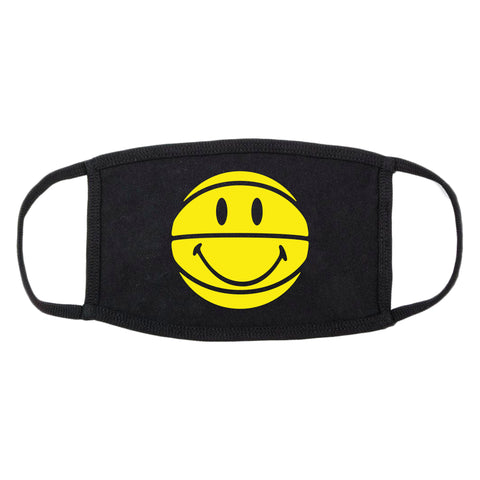 SMILEY BASKETBALL FACE MASK