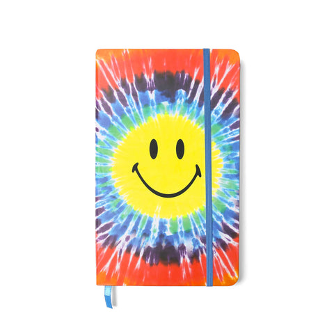 SMILEY TIE DYE NOTEBOOK
