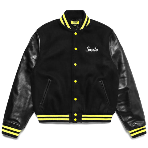 SMILEY VARSITY JACKET