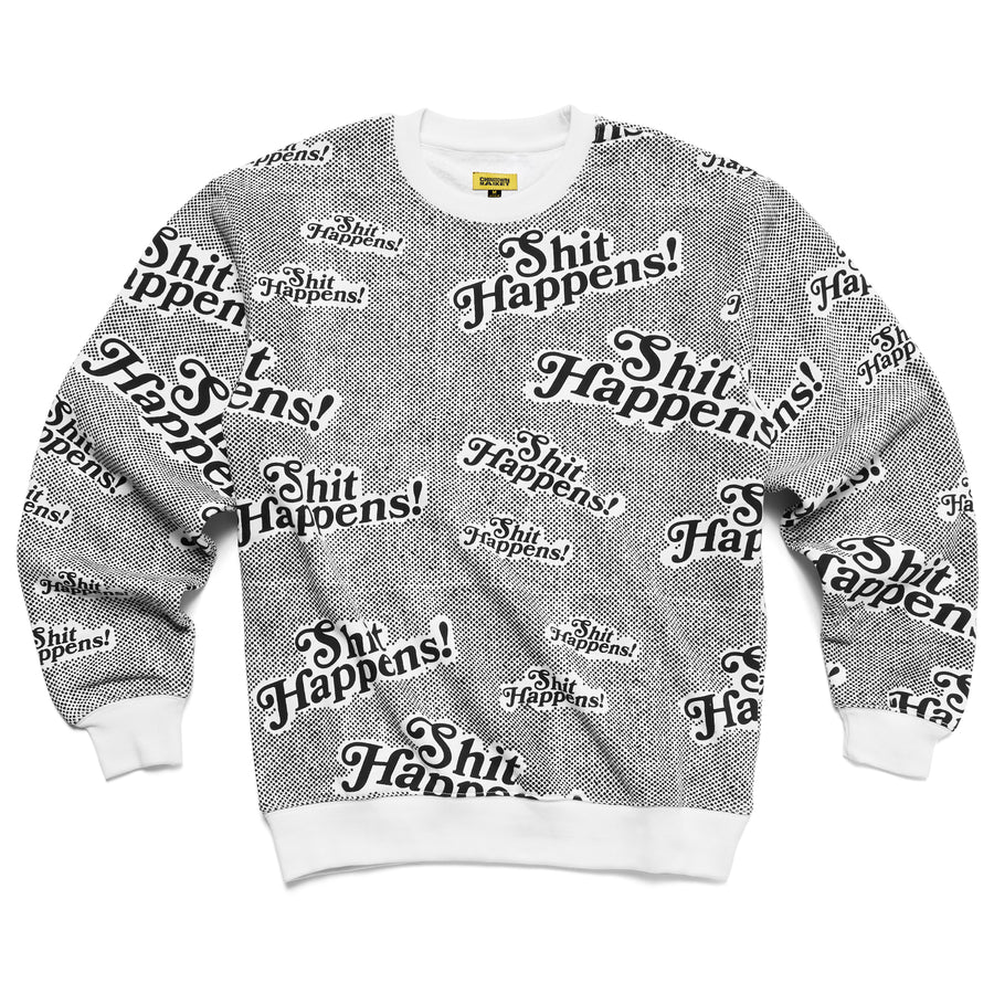 STUFF HAPPENS CREWNECK