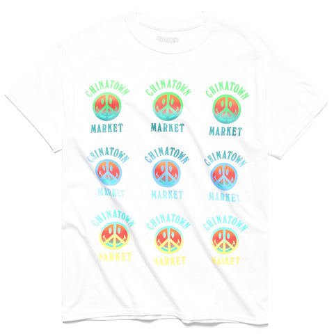 PEACE SMILEY GRADIENT T-SHIRT